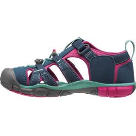 Keen Youth Seacamp II CNX Sandals Poseidon/Very Berry